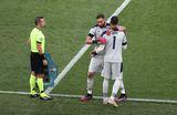 Italia a schimbat portarul în minutul 89! Motivul pentru care Mancini l-a scos pe Donnarumma