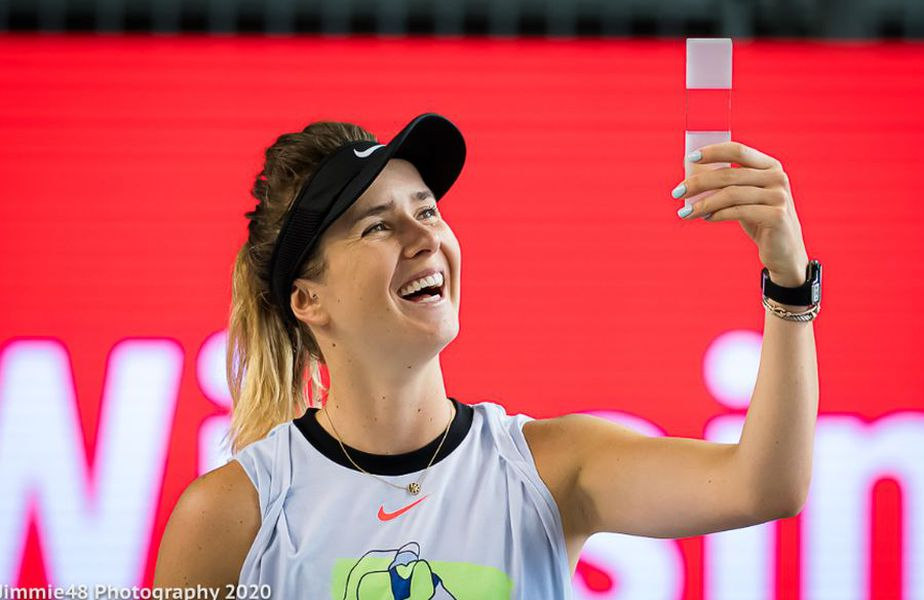Elina Svitolina. Sursă foto: Jimmie48 Tennis Photography