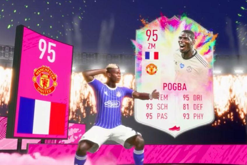 Noul card primit de Paul Pogba în FIFA Ultimate Team // foto: captură Youtube @ DCPHD