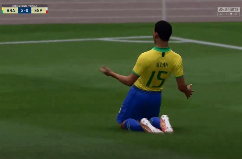 În FIFA 20 se regăsesc fotbaliști generați de joc în loc de starurile reale // Sursă foto: captură YouTube