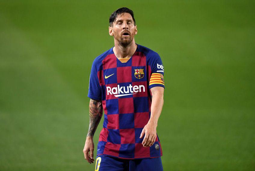 Cu 25 de goluri în La Liga, Lionel Messi a fost golgheterul campionatului // foto: Guliver/gettyimages