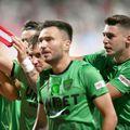 Dinamo a jucat în tricouri verzi cu FC Voluntari