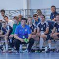 Florentin Pera urmărind primul joc al echipei sale FOTO ȚSKA Moscova