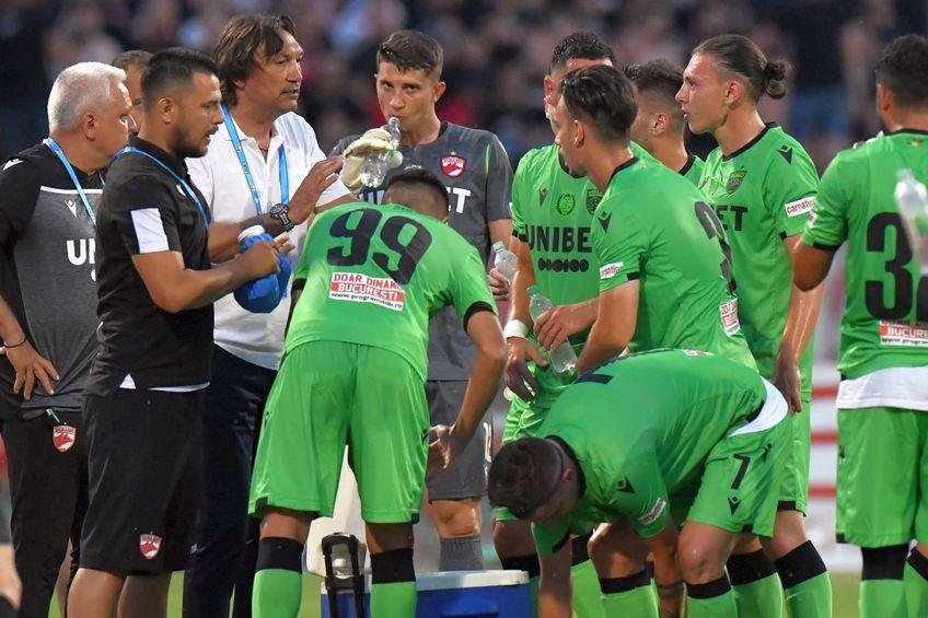 Dinamo a obținut o victorie surprinzătoare la primul meci din noul sezon / foto: Cristi Preda