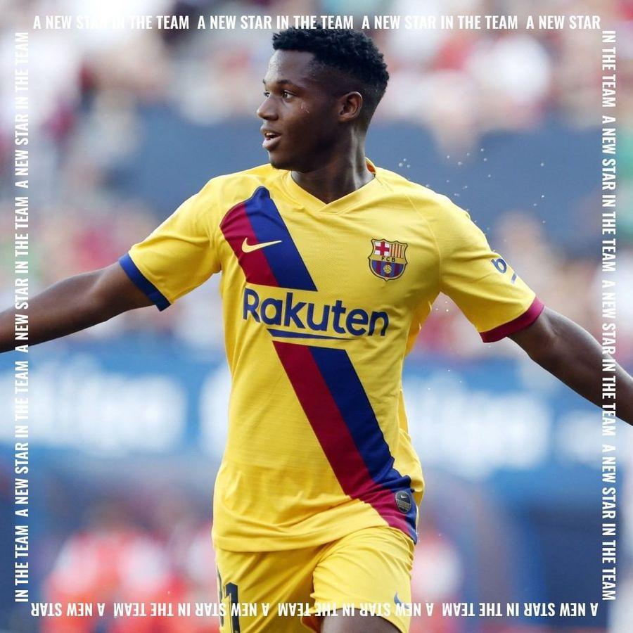 BARCELONA. Ansu Fati a trădat! L-a lăsat baltă pe fratele lui Messi și va avea același impresar ca Ronaldo
