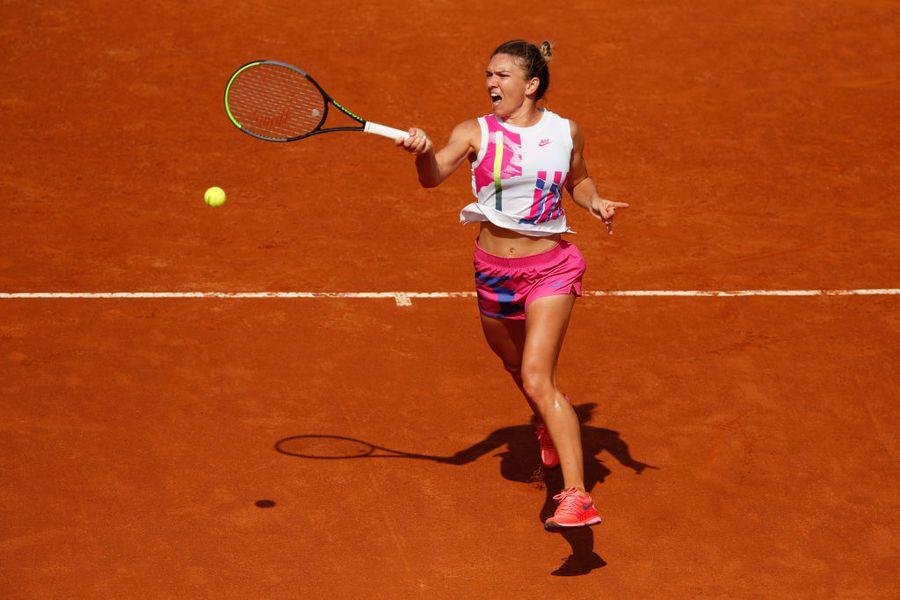 Simona Halep - Garbine Muguruza, semifinale Roma