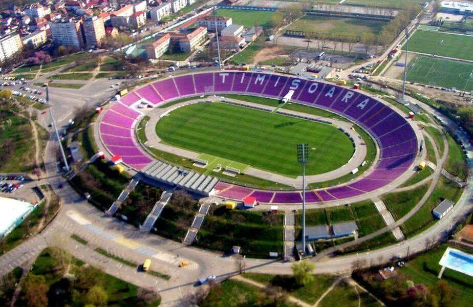 Stadionul din Timișoara urmează să fie reabilitat
