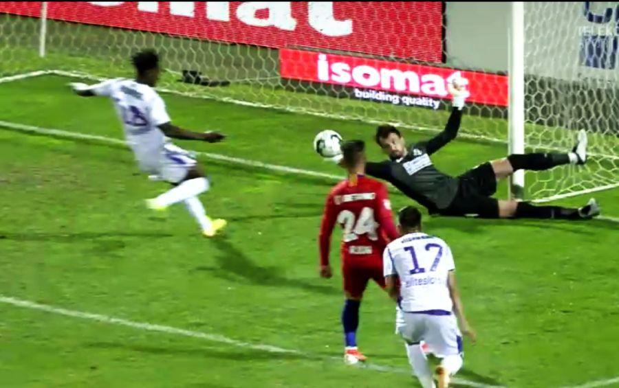 FCSB - FC ARGEȘ 3-0. Cum s-a descurcat Straton la debutul pentru rivala lui Dinamo » Moment-cheie în prima repriză + nota din partea GSP
