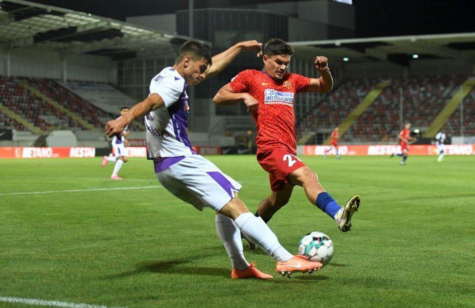 Comentatorul Telekom Sport Emil Grădinescu, 60 de ani, l-a criticat pe Alex Buziuc (26), după o ratare mare a atacantului din meciul FCSB - FC Argeș