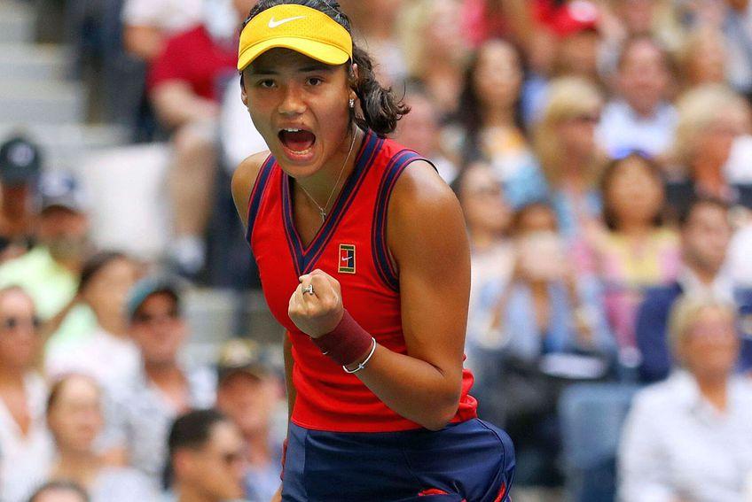 Emma Răducanu, campioană la US Open // FOTO: Imago
