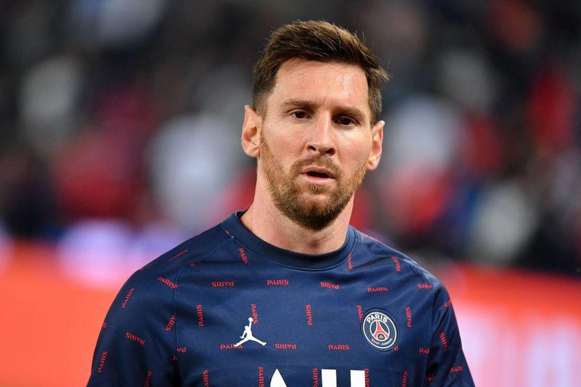 """Messi a primit 25 de pase, cele mai multe în interiorului """"careului"""" format cu Neymar, Mbappé și Di María."""