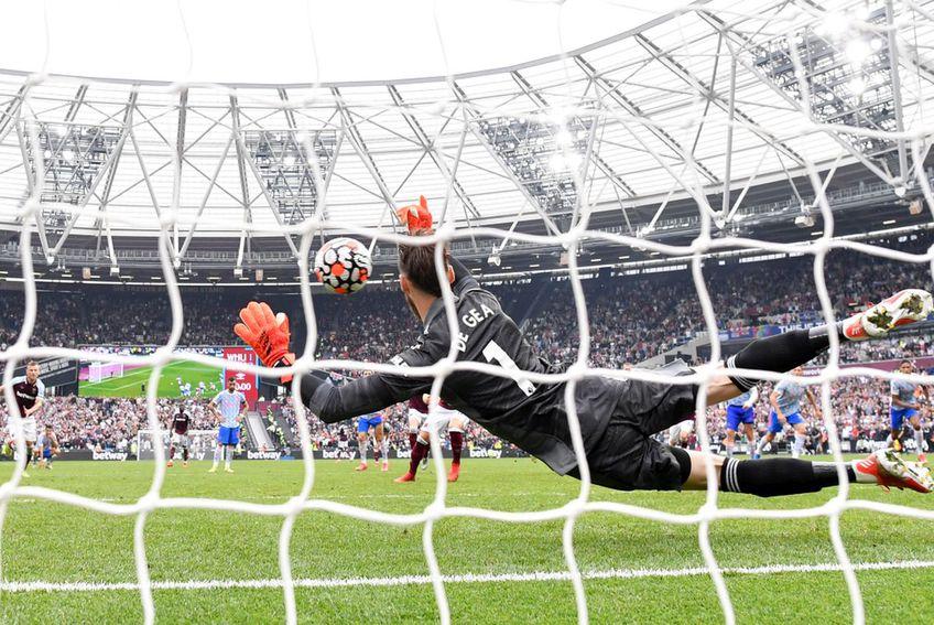 David de Gea a apărat un penalty în meciul cu West Ham // foto: Guliver/gettyimages