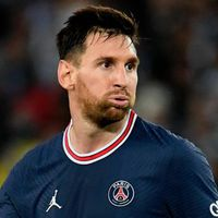 S-a supărat Messi!