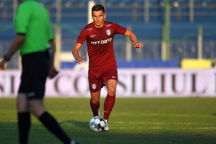 """Un jucător esențial de la CFR Cluj a ajuns piesă de bază în Liga 3 » Dan Petrescu: """"Joacă excelent acolo"""""""