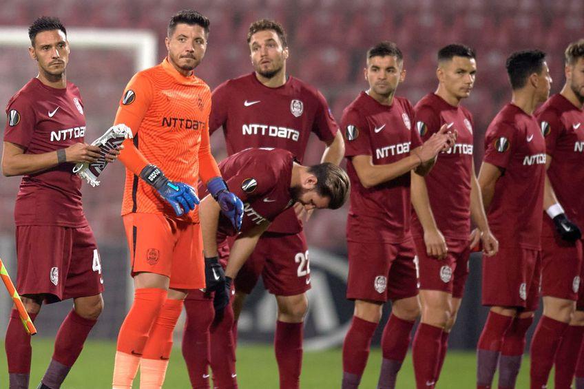 """Dan Petrescu acuză în permanență problemele de efectiv cu care se confruntă la CFR Cluj, dar îl ține la """"satelit"""" pe """"veteranul"""" Ovidiu Hoban / FOTO: Raed Krishan (GSP)"""