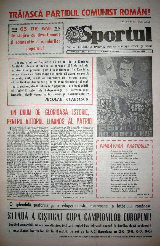 La dispariția unui ziarist sportiv. Rădăcinile lui Horia Alexandrescu