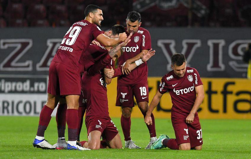 CFR Cluj a învins-o pe CS Universitatea Craiova, scor 1-0, în ultimul meci al rundei #9 din Liga 1