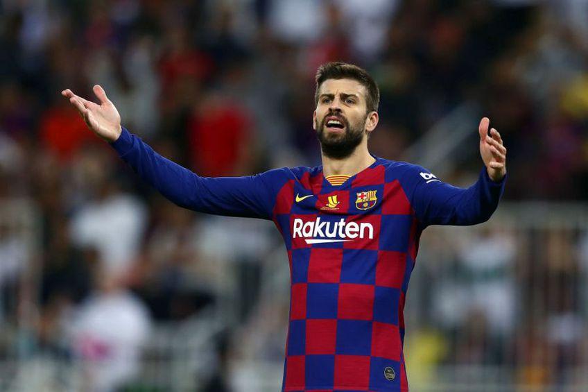 Gerard Pique (33 de ani) a avut o răbufnire la adresa colegilor de la Barcelona în timpul meciului pierdut cu Getafe, scor 0-1.