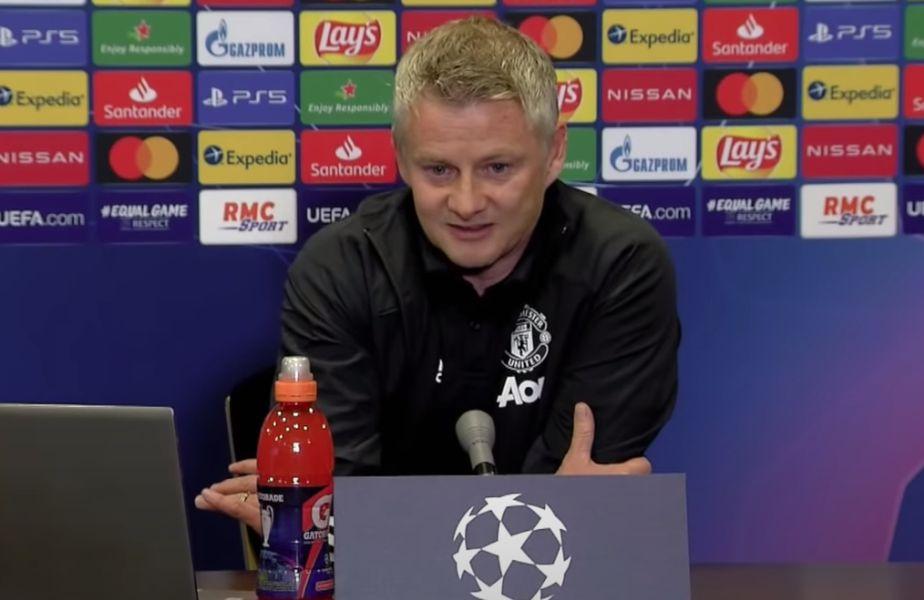 """Ole Gunnar Solskjaer (47 de ani), antrenorul lui Manchester United, a anunțat că Bruno Fernandes (26 de ani, mijlocaș central) va fi căpitanul """"diavolilor"""" pentru meciul cu Paris Saint-Germain din grupele Ligii Campionilor."""