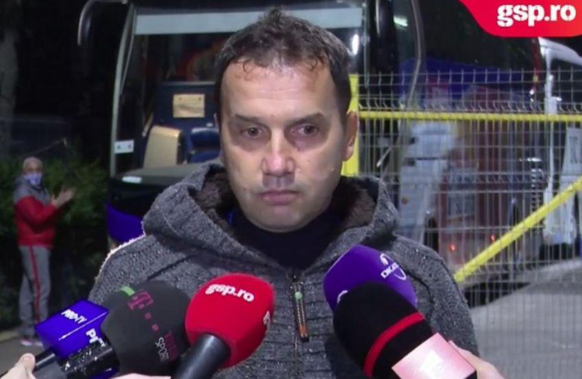Sorin Paraschiv, team-managerul celor de la Academica Clinceni, a oferit declarații la finalul înfrângerii cu FCSB, scor 0-2.