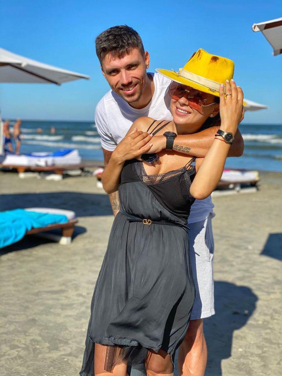 Adrian Rus și soția lui, Vlăduța Lupău