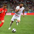 Ben Youssef, într-un duel cu Anglia, la Mondialul din 2018