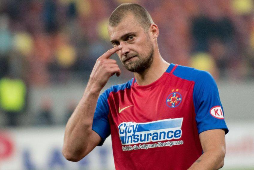 Gabi Tamaș (37 de ani), fundașul central al lui U Cluj, nu exclude o nouă colaborare în viitor cu Gigi Becali, patronul lui FCSB // Foto: IMAGO