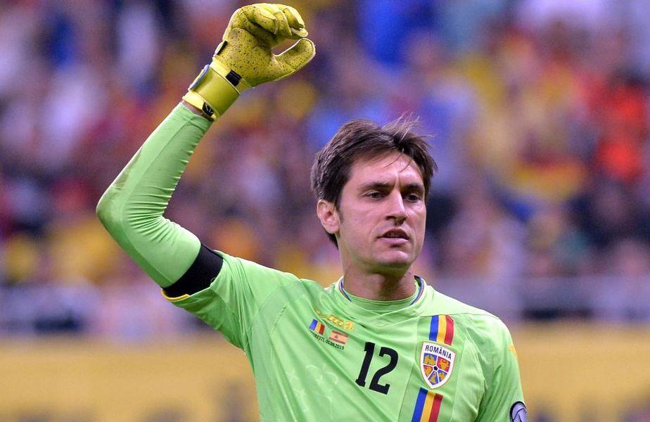 Tătărușanu a ales să se retragă de la echipa națională
