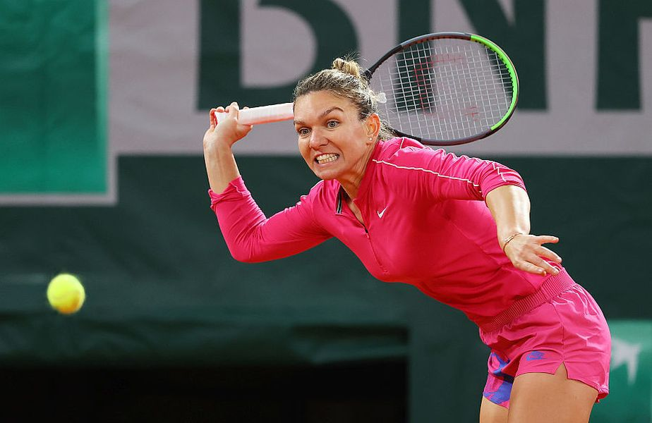 Halep a fost eliminată în optimi la Roland Garros 2020. foto: Guliver/Getty Images