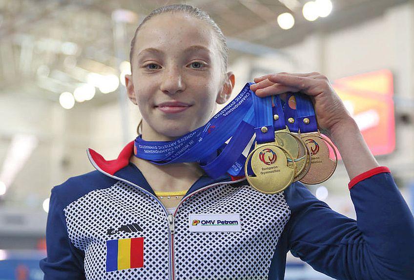 Ana Maria Bărbosu // FOTO: https://www.facebook.com/EuropeanGymnastics