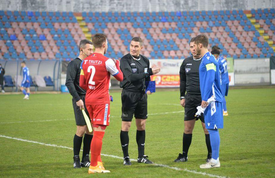 Marius Croitoru (40 de ani) l-a criticat pe Istvan Kovacs, pentru modul în care a condus partida dintre FC Botoșani și FC Voluntari, scor 1-1.