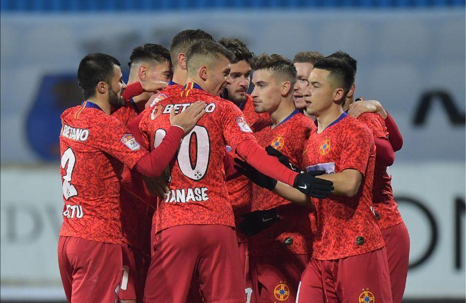 Sergiu Buș (28 de ani),atacantul lui FCSB, ar putea pleca de la formația roș-albastră în cel mai scurt timp