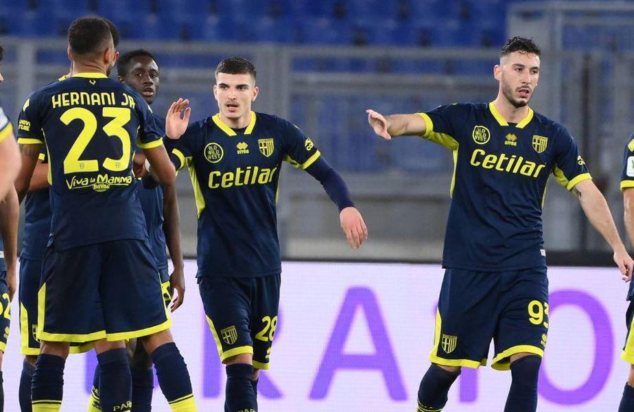 Lazio Roma și Parma se întâlnesc ACUM, în optimile de finală ale Cupei Italiei. Partida a început la ora 22:15, poate fi urmărită în format liveTEXT pe GSP.ro și în direct la TV pe Look Sport.