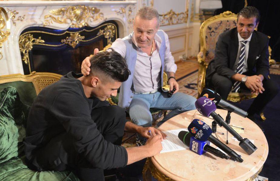 Gigi Becali a plătit 2,5 milioane de euro pentru a-l transfera pe Coman de la Viitorul