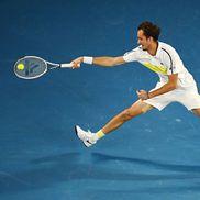 Novak Djokovic - Daniil Medvedev, finala Australian Open, foto: Getty