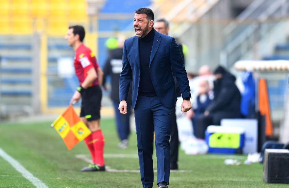 Roberto D'Aversa (45 de ani) a lăsat să se înțeleagă faptul că Gervinho și Jasmin Kurtić au fost lăsați în afara lotului din motive disciplinare.