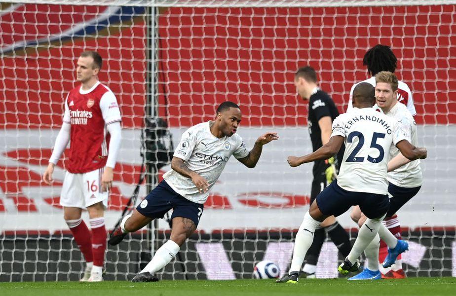 Manchester City a învins-o pe Arsenal, scor 1-0, în derby-ul etapei cu numărul 25 din Premier League.