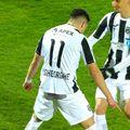 Valentin Gheorghe (24 de ani) a deschis scorul cu o execuție superbă, din lovitură liberă, în Astra - Dinamo.