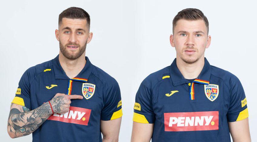 Ovidiu Popescu (27) și Florin Iacob (27) la echipa națională FOTO FRF