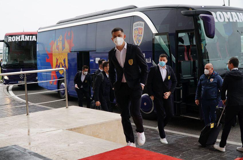 Olimpiu Moruțan la echipa națională de tineret FOTO FRF