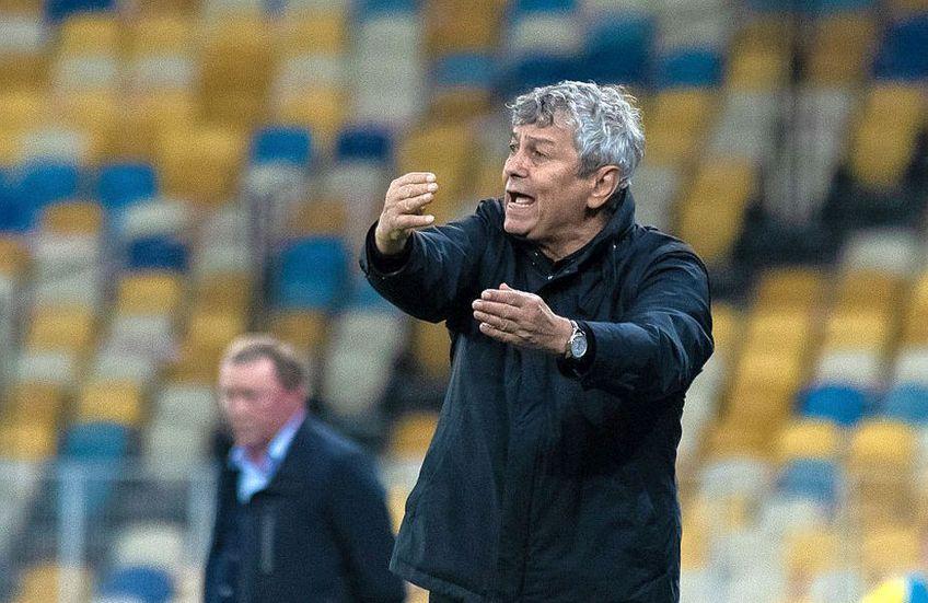 Dinamo Kiev, echipa antrenată de Mircea Lucescu (75 de ani) are 7 puncte în fața lui Șahtior