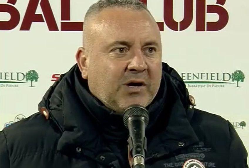 Mihai Iosif, 46 de ani, antrenorul Rapidului, a tras concluziile după victoria categorică, scor 4-0, obținută cu Dunărea Călărași în runda #20 din Liga 2.