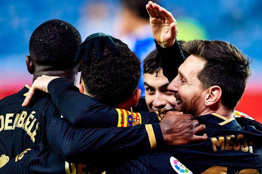 Barcelona a zdrobit-o pe Real Sociedad, scor 6-1 pe Anoeta