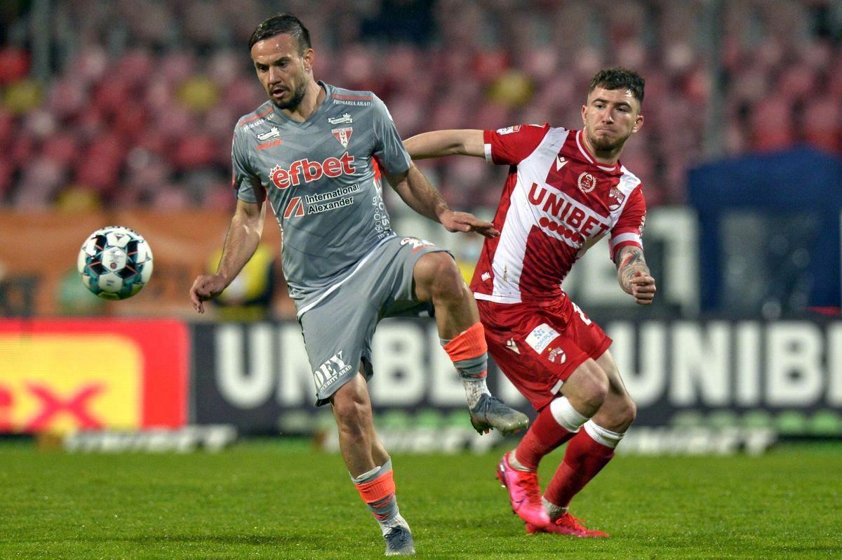 Dinamo, prestație lamentabilă cu UTA: 5 fotbaliști au primit nota 3! Cine este singurul jucător cu 8