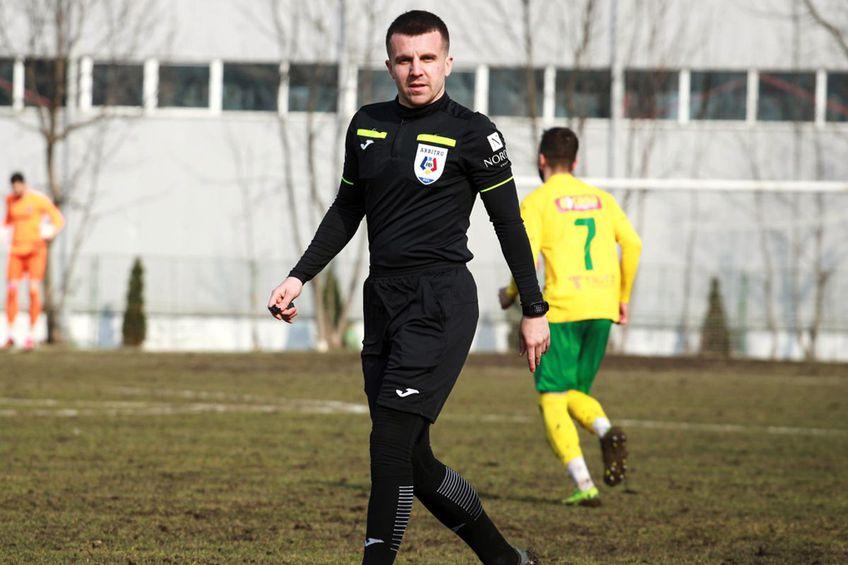 Sorin Vădana e fiul fostului arbitru clujean cu același prenume, care a activat în anii 90-2000 // foto: Facebook @ CSM Bucovina Rădăuți