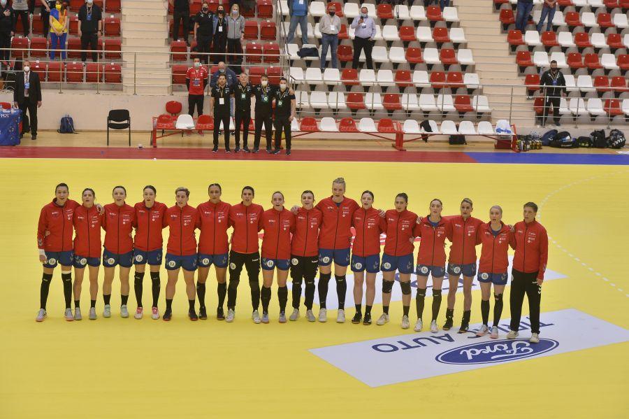 Naționala României în meciul de la București cu Macedonia de Nord FOTO Cristi Preda