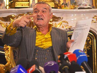 """Gigi Becali anunță revolta FCSB: """"Nu las niciun jucător la Jocurile Olimpice! Să ia Burleanu de la CFR"""""""