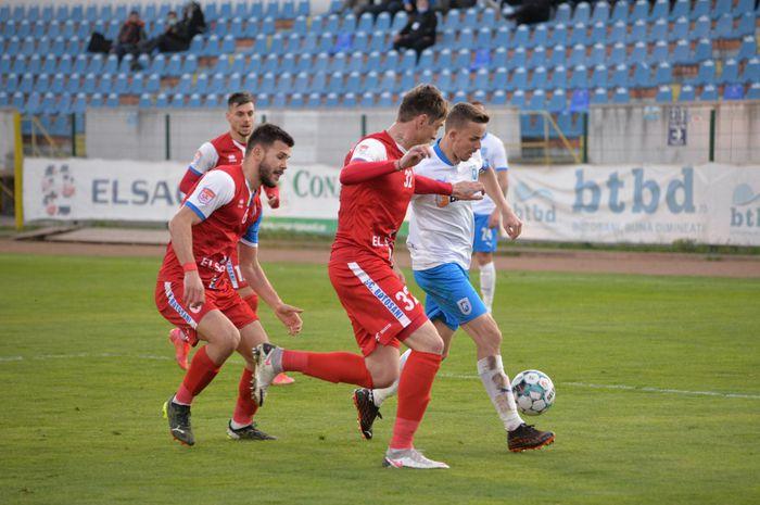 Două goluri și mulți nervi în FC Botoșani - Craiova » Oltenii își pun în pericol șansele la titlu. Clasamentul acum