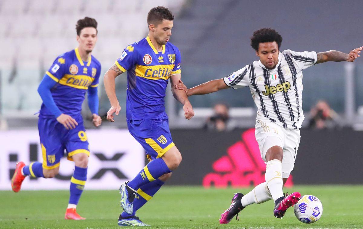 Juventus - Parma, serie A, 21.04.2021