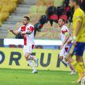 Nicolae Stanciu (27 de ani) a marcat pentru Slavia Praga, în victoria 2-1 cu Zlin, din etapa etapa cu numărul 28 a primei ligi din Cehia. Echipa internaționalului român e la o victorie de un nou titlu!